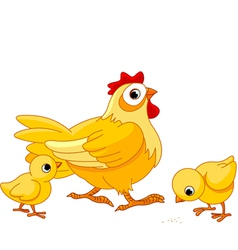 Mother hen vector