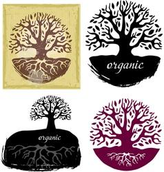 Set of tree symbols vector