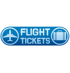 Flight tickets vector