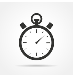 Stopwatch icon vector