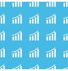 Financial graphic straight pattern vector