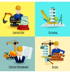 Architect design concept vector