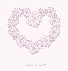 Love heart vector