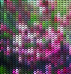 Abstract background with column mosaic vector