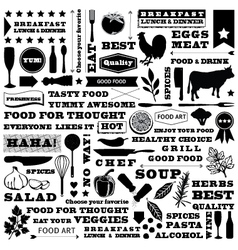 Restaurant pattern vector