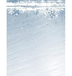 Grey grunge christmas background vector
