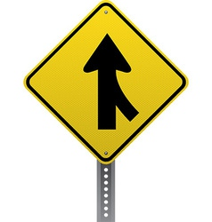 Merging traffic sign vector