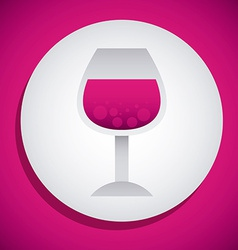 Wine design vector