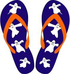 Sandals vector