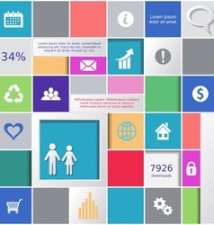 Infographic background vector