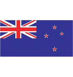 New zealand flag vector