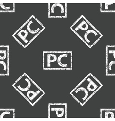 Pc stamp pattern vector