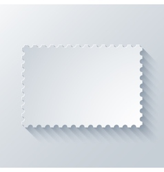 Modern postage background vector
