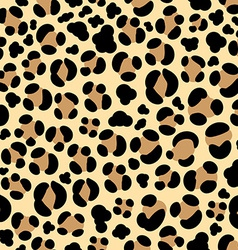 Leopard seamless background vector