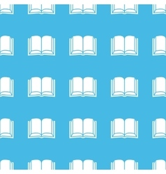Book straight pattern vector
