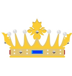 Queen crown vector