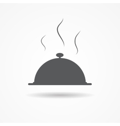 Food icon application vector