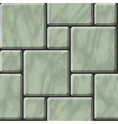 Greenish polished stone tiles texture vector