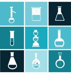 Chemical test tube vector