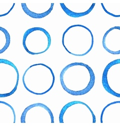 Watercolor circle pattern vector