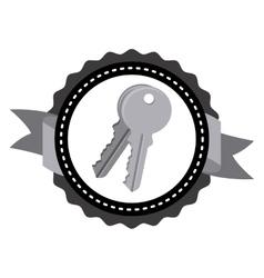 Keys icon design vector