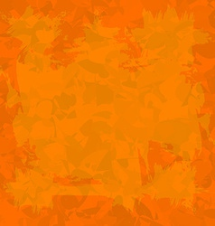 Orange old wall decorative grunge background vector