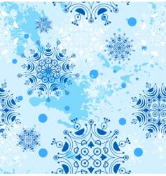 Snowflakes design vector