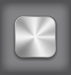 App metal icon vector