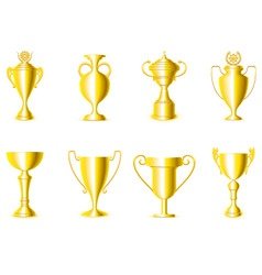 Award cups vector