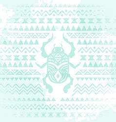 African tribal ethnic art background vector