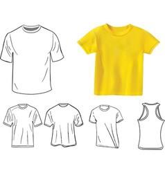 Camisetas vector