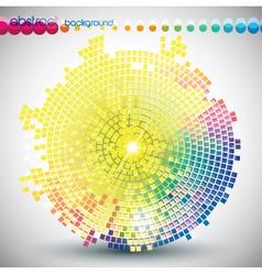 Digital media graphic vector