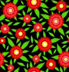 Texture of flowers vector