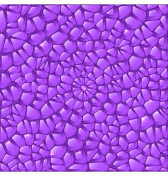 Violet amethyst stained glass abstract background vector