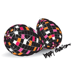 Easter graffiti vector