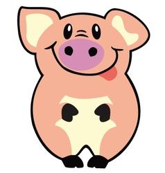 Simple pig vector