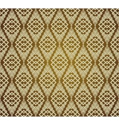 Seamless brown retro pattern background vector