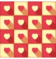 Sweet pop-art pattern for love vector