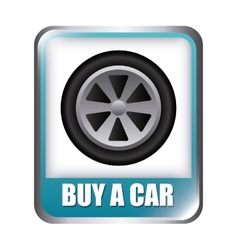Buy a car vector