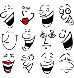 People emotions vector