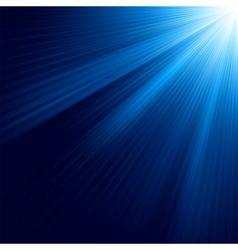 Blue luminous rays eps 8 vector