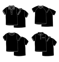 T-shirtsblack vector