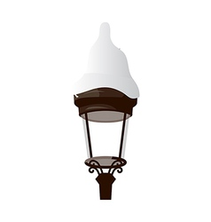 A street light vector