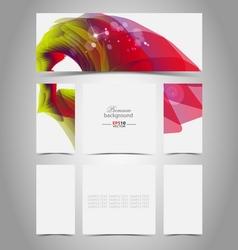 Virtual presentation gallery vector