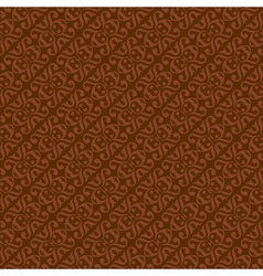 Brown colors art deco style curve pattern design vector