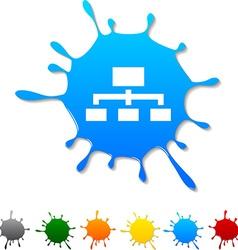 Network blot vector