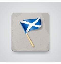 Scotland flag icon vector