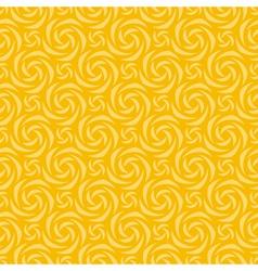 Yellow colors pinwheel pattern vector