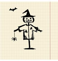 Halloween night symbol for your design vector