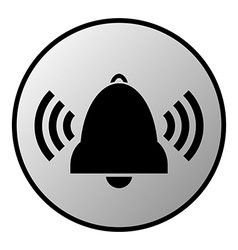 Bell button vector